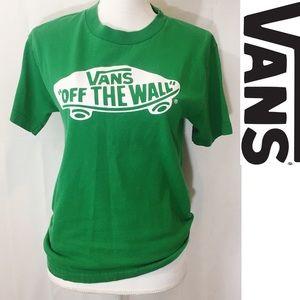 Vans off the wall T-shirt💚